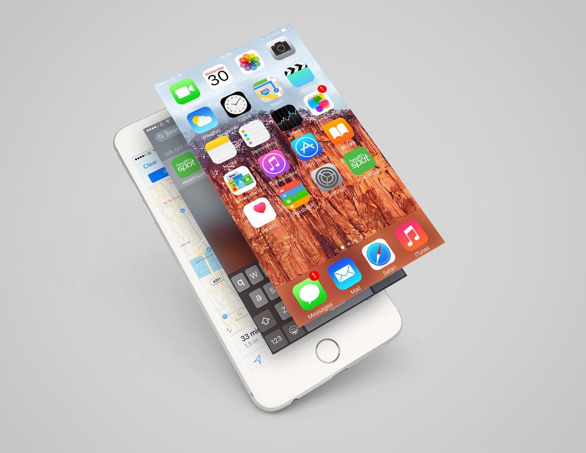 Healtspot app phone burst r