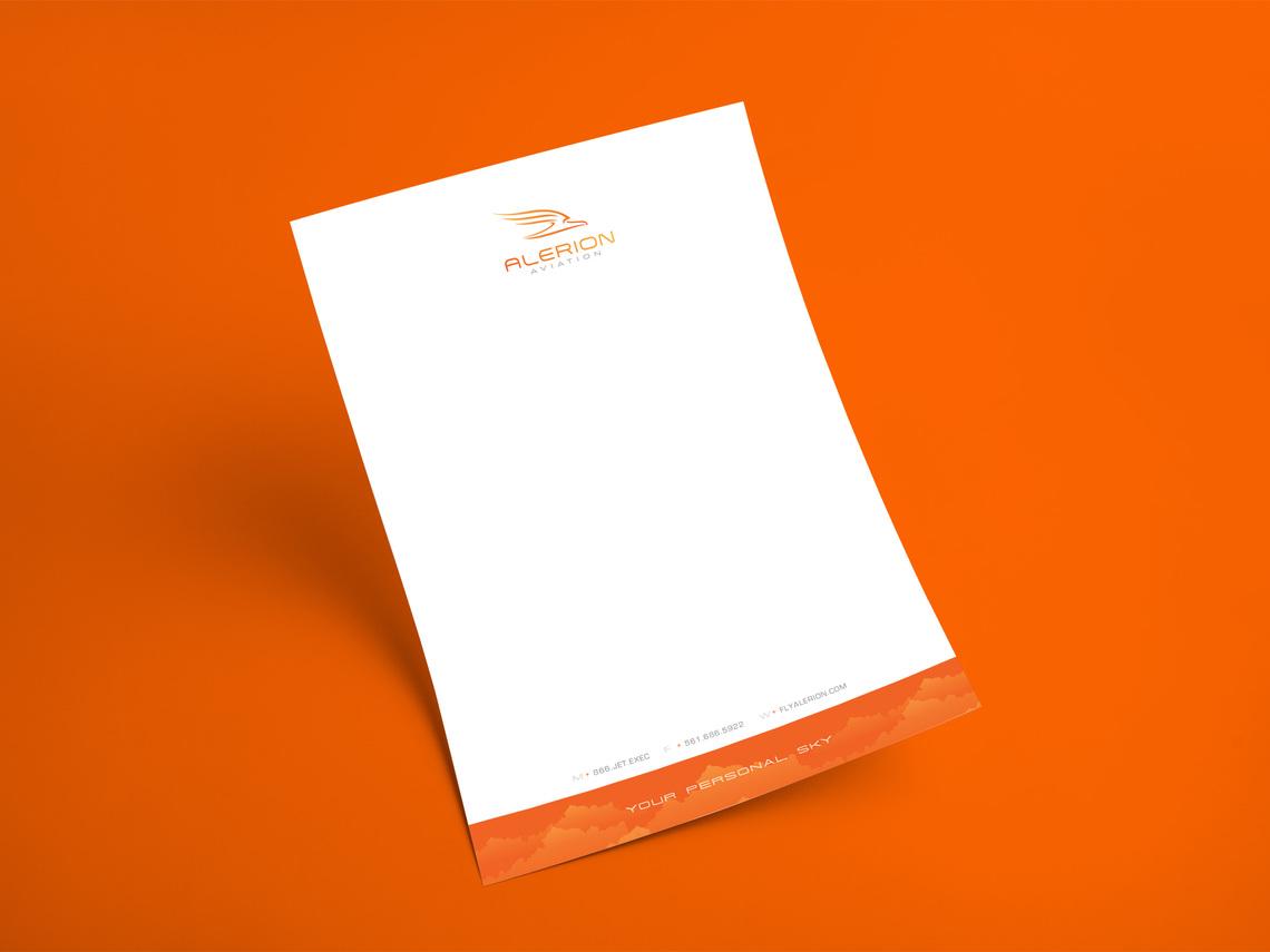 Alerion letterhead
