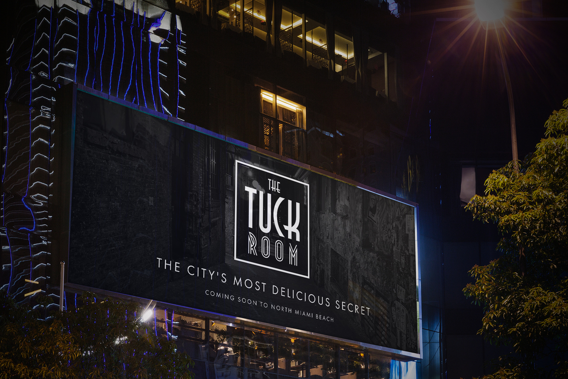 Tuck billboard 2