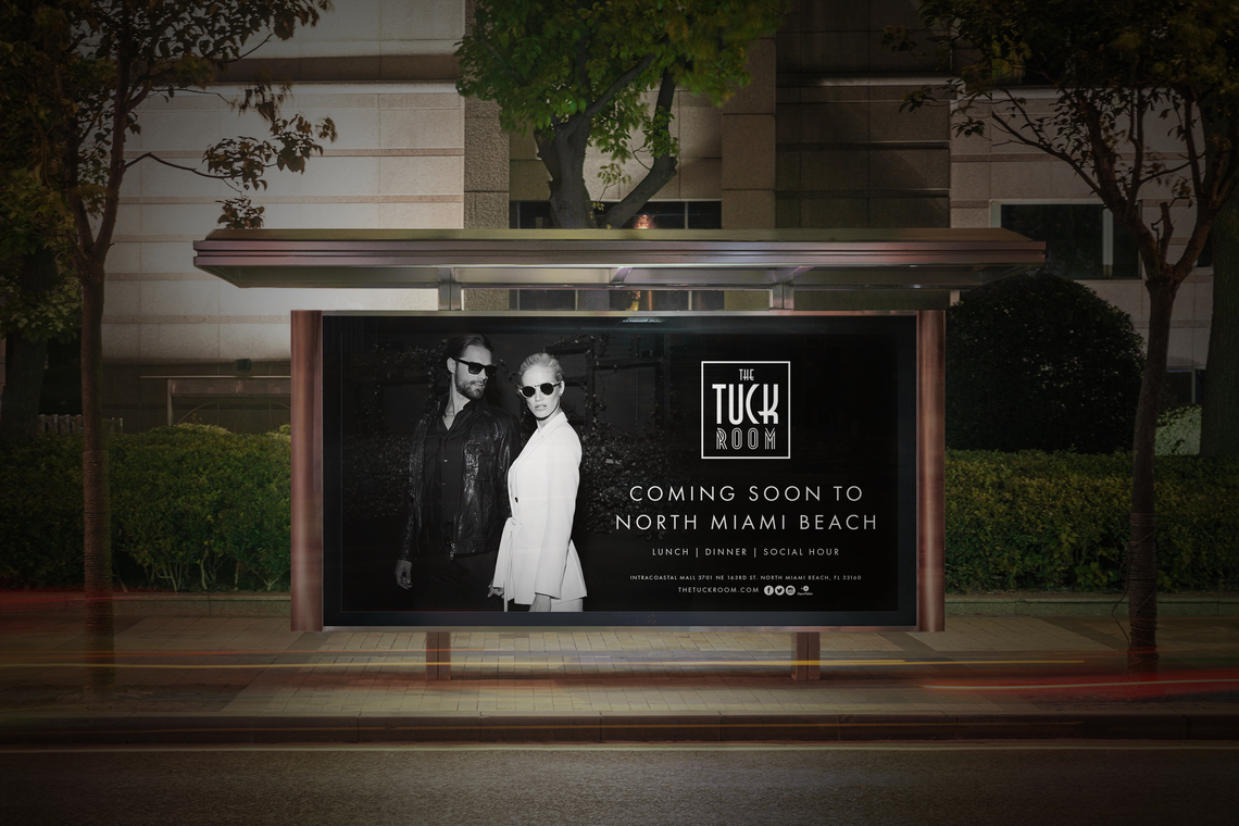 Tuck billboard