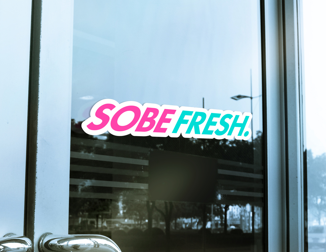 Sobe store sign
